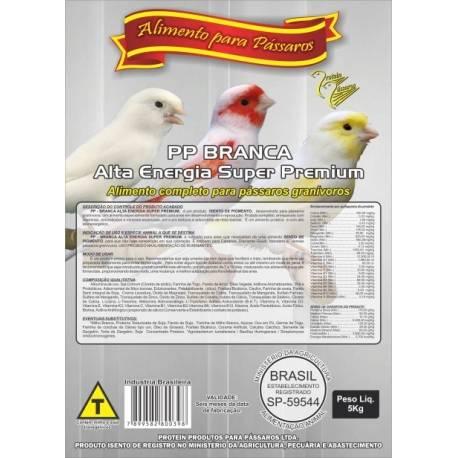 Farinhada PP-Branca Alta Energia Super Premium - 5kg