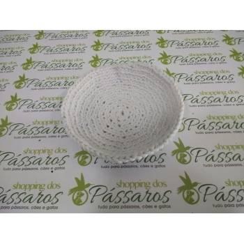 Forro Crochê P/Ninho Canario